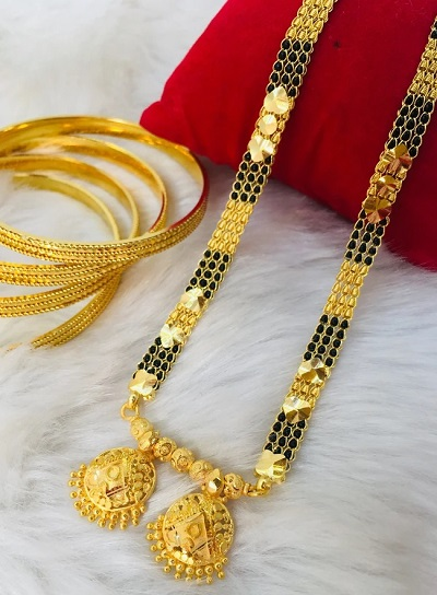 Traditional Mangalsutra With 30 Grams Of Gold