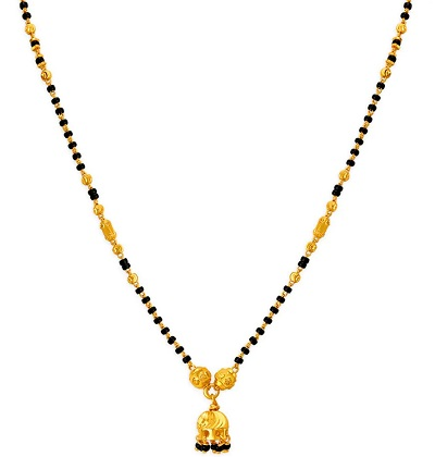 Traditional style of 22 Kt Gold Mangalsutra