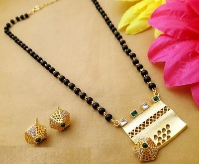 Very Unique And Modern Mangalsutra Design
