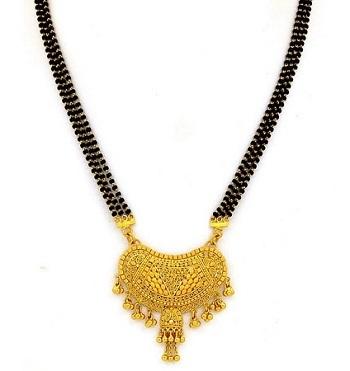 rajasthani gold Mangalsutra