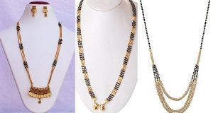 triple layer mangalsutra images