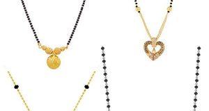 Latest Light Weight Gold Mangalsutra Designs