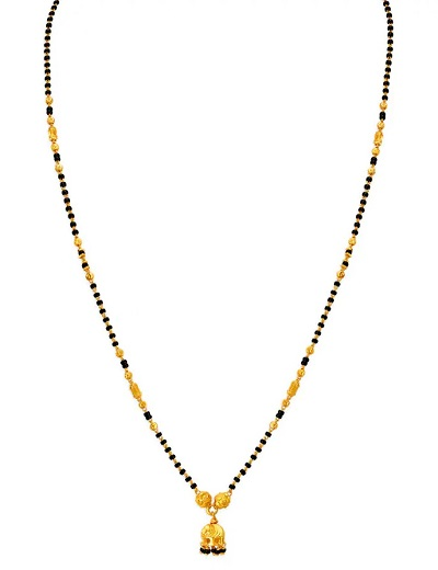 Long chain Mangalsutra with light weight pattern