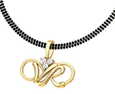 Double chain style interesting Mangalsutra