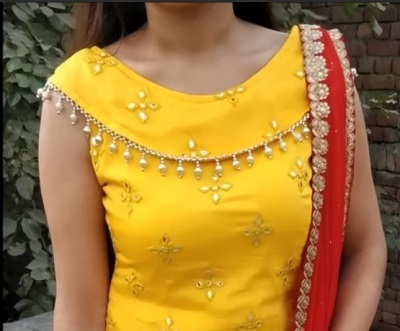 Collar Kurti Neck design