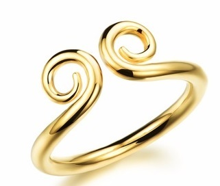 Daily wear Gold Ring design