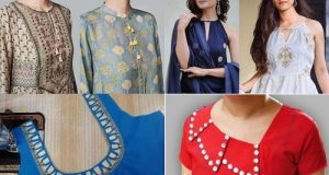 Latest Kurti Neck Designs