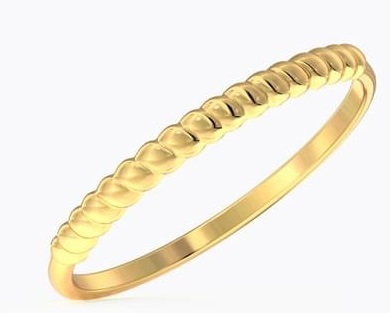 Light weight Gold Ring style