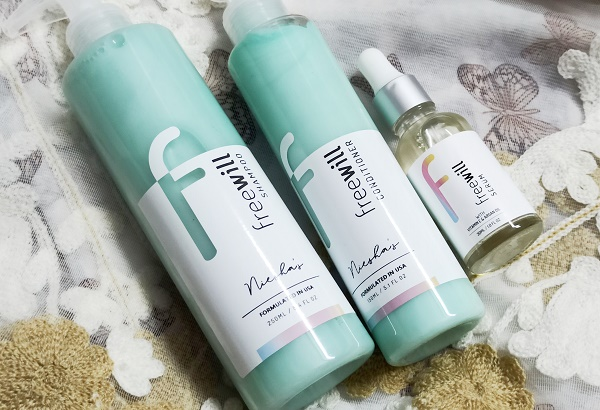 freewill customized hair care products review