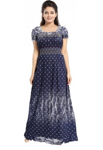 Cotton Maxi Dress Nighty