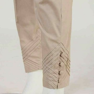 Ethnic pants design with pintucks