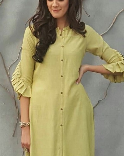 Flared sleeves design for suit and kurti