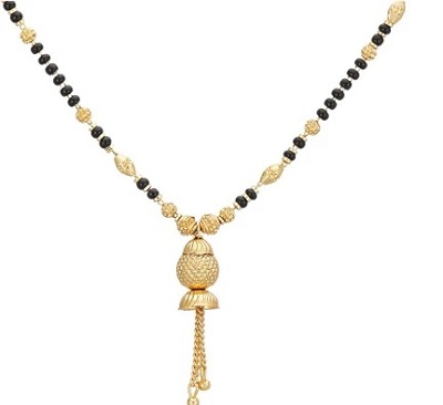 Attractive Dangling Bead Everyday Mangalsutra Design
