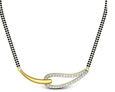 Stylish And Simple 10 Gram Mangalsutra For Daily Use