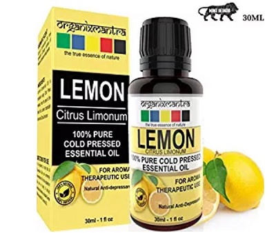 Organix Mantra Lemon Cold Pressed Essential Oil