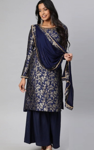 Party wear Simple Sharara Suit For Parties