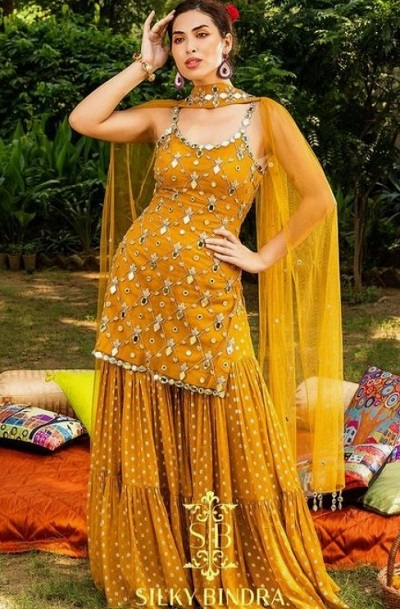 Stylish Sharara Suit Pattern For Events And Parties