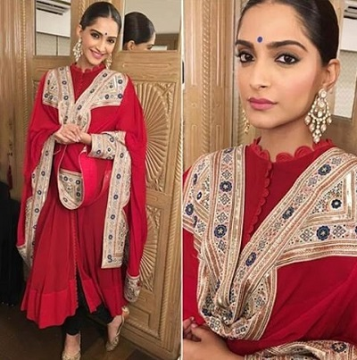 Bridal Red Suit For Women Bollywood Dress