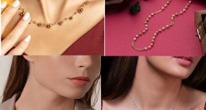 OfficeWear Necklace DesignsStylish gold chain necklace for women