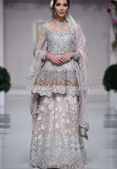 Stylish Frock Salwar Suit For Parties