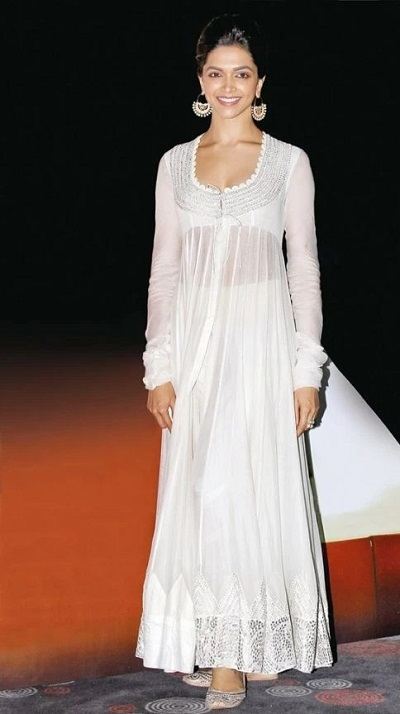 Long White Embroidered Net White Suit With Palazzo